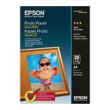 Epson Glossy Papel Fotográfico para Impresoras de Inyección de Tinta Blanco Brillante A4 200 g/m²