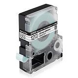 Epson LC-4TBW9 Cinta de etiquetas transparente extrafuerte cartucho 12 mm x 9 m