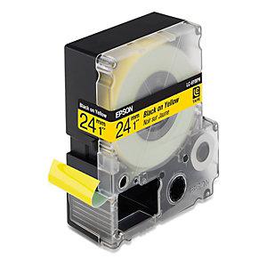 Epson LC-6YBP9 Cinta de etiquetas amarilla cartucho 24 mm x 9 m