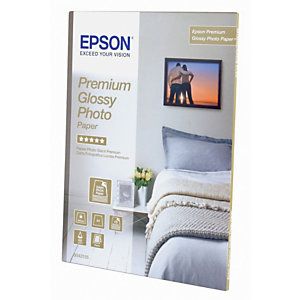 Epson Premium Carta Fotografica 100 x 150 mm per Stampanti Inkjet, 255 g/m², Bianca Lucida (confezione 40 fogli)