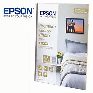 Epson Premium Carta Fotografica A4 per Stampanti Inkjet, 255 g/m², Bianca Lucida (confezione 15 fogli)