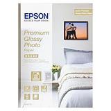 Epson Premium Glossy Papel Fotográfico para Impresoras de Inyección de Tinta Blanco Brillante A4 225 g/m²