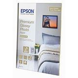 Epson Premium Glossy Papel Fotográfico para Impresoras de Inyección de Tinta Blanco Extra-Brillante 100 x 150 mm 255 g/m²
