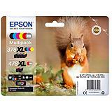 Epson Squirrel Multipack 6-colours 378XL / 478XL Claria Photo HD Ink, Original, Encre à pigments, Noir, Cyan, Magenta, Rouge, Jaune, Epson, Expression Photo XP-8500, 1 pièce(s) C13T379D4010