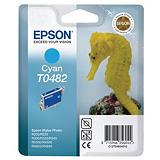 Epson T0482, C13T04824010, Cartucho de Tinta, ULTRACHROME® K3, Caballito de mar, Cian
