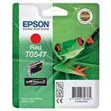 Epson T0547, C13T05474010, Cartucho de Tinta, ULTRACHROME® Hi-Gloss, Rana, Rojo