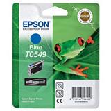 Epson T0549, C13T05494010, Cartucho de Tinta, ULTRACHROME® Hi-Gloss, Rana, Cian
