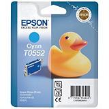 Epson T0552, C13T05524010, Cartucho de Tinta, Pato de goma, Cian