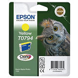 Epson T0794, C13T07944010, Cartucho de Tinta, Claria Photographic, Búho, Amarillo