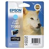Epson T0965, C13T09654010, Cartucho de Tinta, ULTRACHROME® K3, Husky, Cian Claro