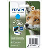 Epson T1282, C13T12824012, Cartucho de Tinta, DURABrite Ultra, Zorro, Cian
