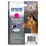 Epson T1303, C13T13034012, Cartucho de Tinta, DURABrite Ultra, Ciervo, Magenta, Alta Capacidad