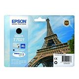 Epson T7021 XL, C13T70214010, Cartucho de Tinta, DURABrite Ultra, Torre Eiffel, Negro