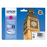 Epson T7033 L, C13T70334010, Cartucho de Tinta, DURABrite Ultra, Big Ben, Magenta
