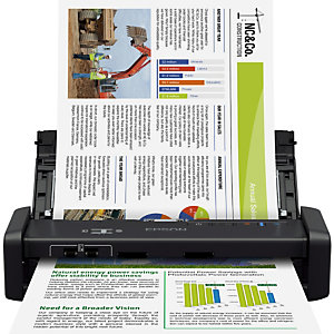 Epson WorkForce DS-360W, 215,9 x 1117,6 mm, 600 x 600 DPI, 50 ppm, 50 ppm, Scanner ADF, Noir B11B242401