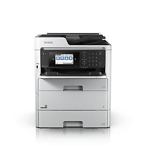 Epson WorkForce Pro WF-C579RDWF, Jet d'encre, Impression couleur, 4800 x 1200 DPI, A4, Impression directe, Blanc C11CG77401