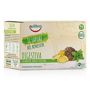 equilibra Tisana Digestiva Biologica con Menta, Anice e Zenzero (confezione 20 filtri)
