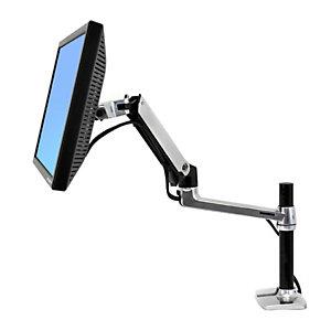 "Ergotron LX Series Desk Mount LCD Arm, Tall Pole, 9,1 kg, 61 cm (24""), 75 x 75 mm, 100 x 100 mm, Negro 45-295-026"