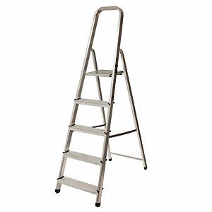 Escalera de aluminio, 5 peldaños