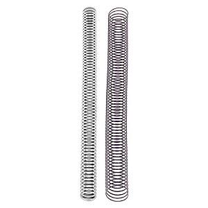 Espirales metálicas, 14 mm, negro