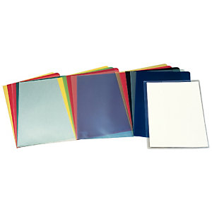 Esselte 30P Dossier uñero, Folio, polipropileno rugoso, 110 micras, transparente