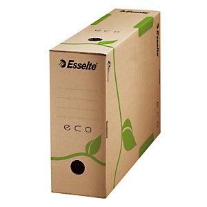 ESSELTE 50 boîtes archives Eco dos 10 cm