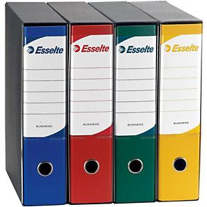 Esselte Business Registratore archivio, Formato Protocollo, Dorso 8 cm, Polipropilene, Blu