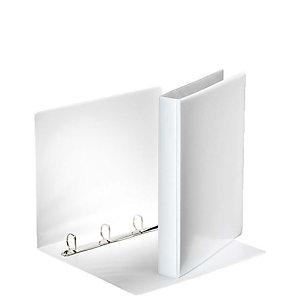 Esselte Carpeta personalizable canguro de 2 anillas de 40 mm para 380 hojas A4 de cartón plastificado blanco