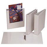 Esselte Carpeta personalizable canguro de 4 anillas de 25 mm para 230 hojas A4 Maxi lomo 35 mm de cartón plastificado blanco