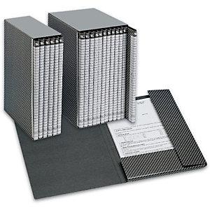 Esselte Cartella progetti Delso Line, Cartone, Grigio, 320 mm x 250 mm x 15 mm (confezione 6 pezzi)