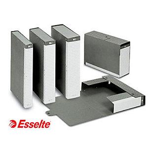 Esselte Cartella progetti Delso Line, Cartone, Grigio, 350 mm x 250 mm x 100 mm