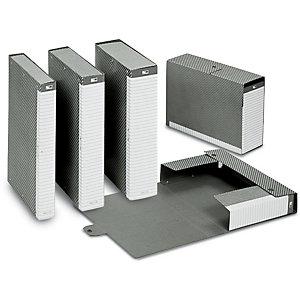 Esselte Cartella progetti Delso Line, Cartone, Grigio, 350 mm x 250 mm x 40 mm