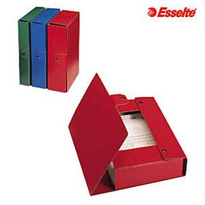 Esselte Cartella progetti Eurobox, Cartone, Blu, 350 mm x 250 mm x 100 mm