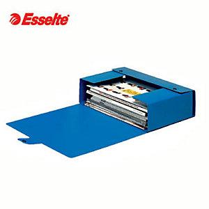 Esselte Cartella progetti Eurobox, Cartone, Blu, 350 mm x 250 mm x 150 mm