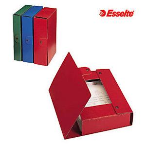 Esselte Cartella progetti Eurobox, Cartone, Rosso, 350 mm x 250 mm x 100 mm