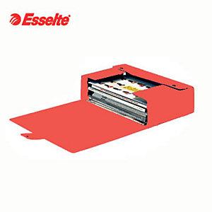 Esselte Cartella progetti Eurobox, Cartone, Rosso, 350 mm x 250 mm x 150 mm
