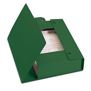 Esselte Cartella progetti Eurobox, Cartone, Verde, 350 mm x 250 mm x 80 mm