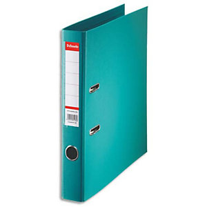 ESSELTE Classeur à levier Esselte Standard en polypropylène, dos 50 mm, coloris Turquoise