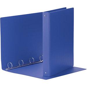 Esselte Daily Raccoglitore ad anelli, 22 x 30 cm, Dorso 33 mm, Capacità 150 fogli, Cartone, Blu