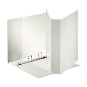 Esselte Display Raccoglitore ad anelli personalizzabile, A4, Dorso 40 mm, Capacità 230 fogli, Cartone, Bianco