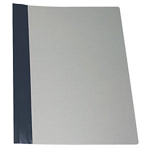 Esselte Dossier fástener metálico, A4, PVC, 30 hojas, azul