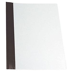Esselte Dossier fástener metálico, A4, PVC, 30 hojas, negro
