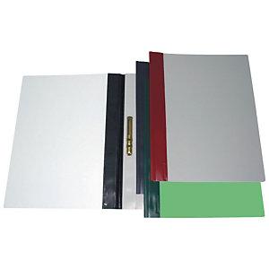 Esselte Dossier fástener metálico, Folio, PVC, 30 hojas, burdeos