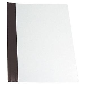 Esselte Dossier fástener metálico, Folio, PVC, 30 hojas, negro