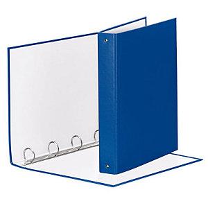Esselte Meeting Raccoglitore ad anelli, 22 x 30 cm, Dorso 43 mm, Capacità 200 fogli, Cartone, Blu