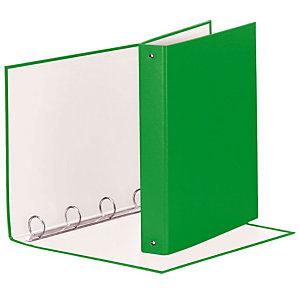 Esselte Meeting Raccoglitore ad anelli, 22 x 30 cm, Dorso 43 mm, Capacità 200 fogli, Cartone, Verde Vivida
