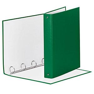 Esselte Meeting Raccoglitore ad anelli, 22 x 30 cm, Dorso 43 mm, Capacità 200 fogli, Cartone, Verde