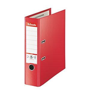 Esselte No.1 Power Plus - classeur à levier dos 8 cm rouge