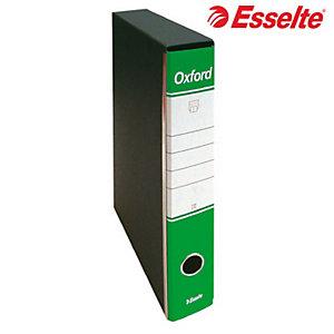 Esselte Oxford Registratore archivio, Formato Protocollo, Dorso 5 cm, Cartone, Verde