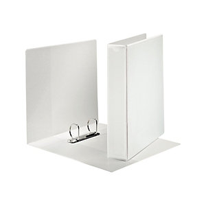 Esselte Panorama Carpeta personalizable canguro de 2 anillas de 62 mm para 400 hojas A4 de cartón plastificado blanco